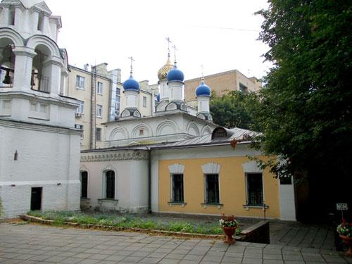 Церковь на Большой Никитской, дом 29 в Москве