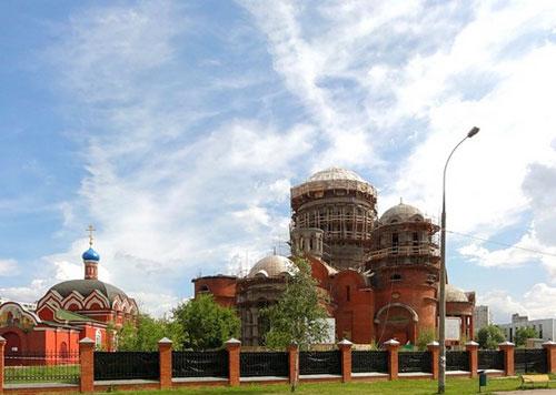 Храм Сергия Радонежского в Бибиреве