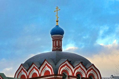 Храм на Костромской улице в Москве