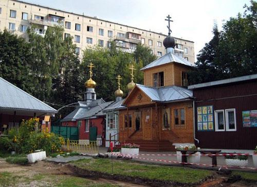 Храм Серафима Саровского по улице Багрицкого в Москве