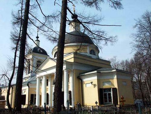Храм Рождества Иоанна Предтечи в Ивановском