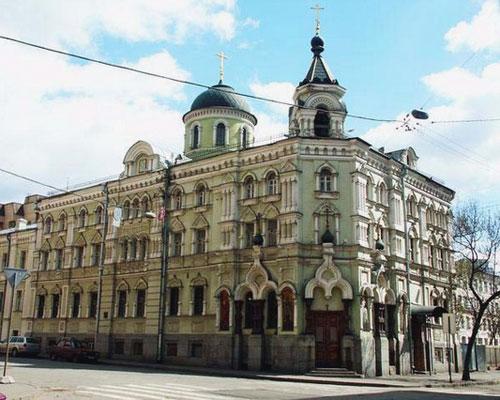 Храм на Второй Тверской-Ямской улице в Москве