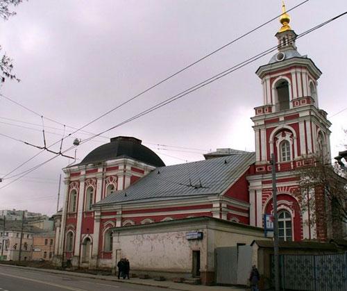 Храм святителя Алексия Митрополита Московского в Рогожской слободе