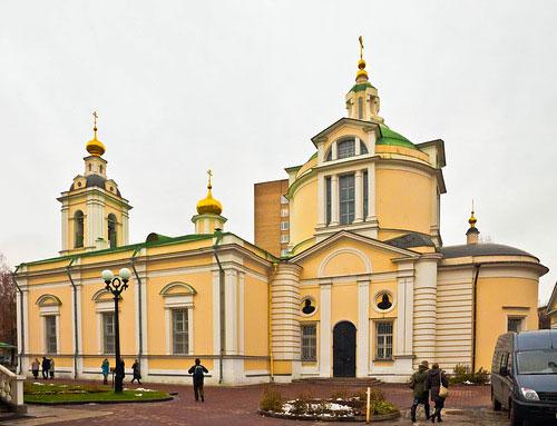 Храм Святителя Николая в Кузнецкой Слободе (Кузнецах)