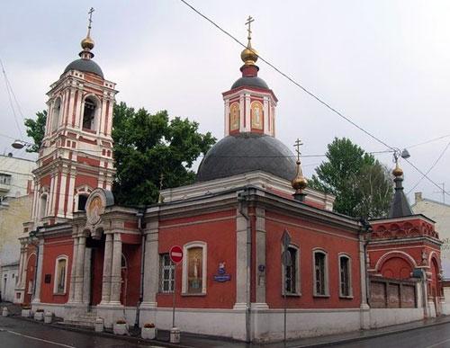 Храм святителя Николая в Подкопаях в Москве