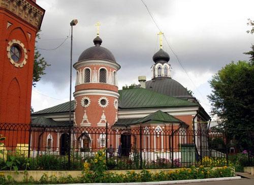 Храм святителя Николая Чудотворца на Преображенском кладбище