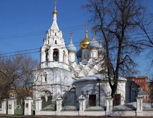Храм святителя Николая в Пыжах на Большой Ордынке