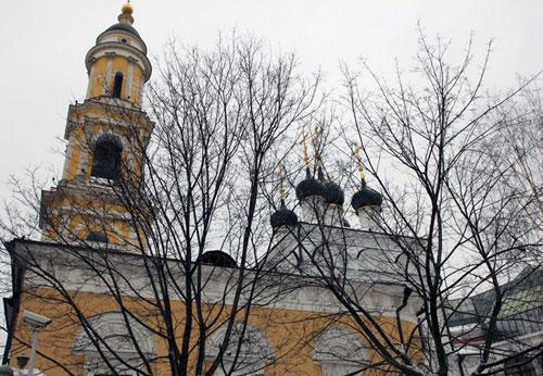 Храм святителя Николая в Толмачах при Третьяковской Галерее