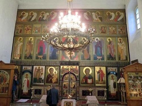 Владимирский храм в Старосадском переулке в Москве