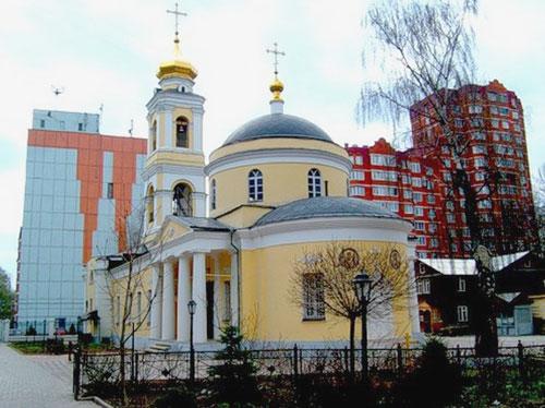 Храм Зосимы и Савватия Соловецких в Гольянове