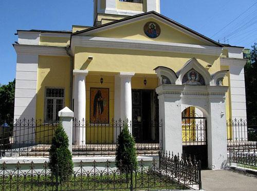 Храм на Байкальской улице в Москве