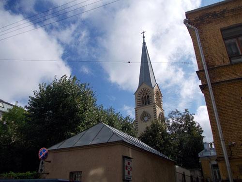 Кафедральный собор Петра и Павла в Москве