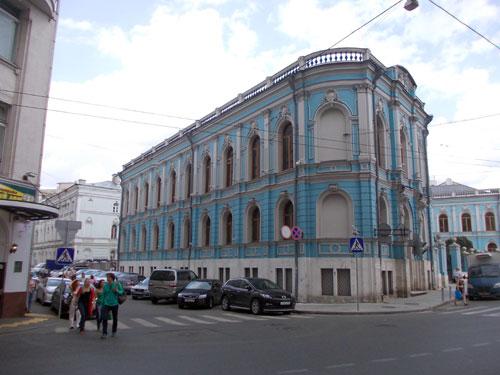 Чертковская библиотека в Москве