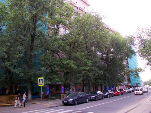 """Кооператив """"Военный строитель"""" на Чистопрудном, 12, строения 2 и 4"""