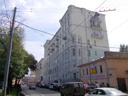Чистопрудный бульвар, дом 14 в Москве