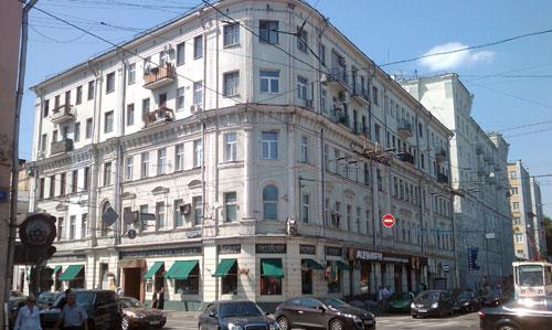 Улица Покровка, дом 15 в Москве - фото