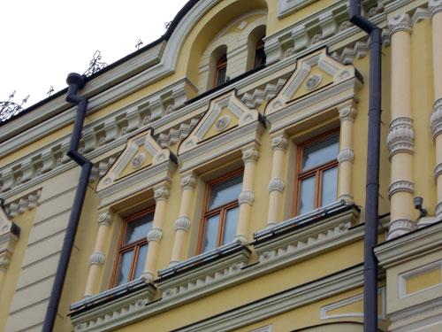 Улица Рождественка, дом 9. Доходный дом Третьяковых.