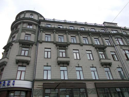 Улица Большая Лубянка, дом 5/21 в Москве - фото.