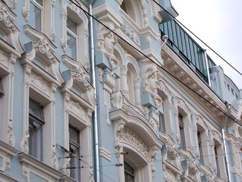 Дом Бутикова-Мишина на Мясницкой