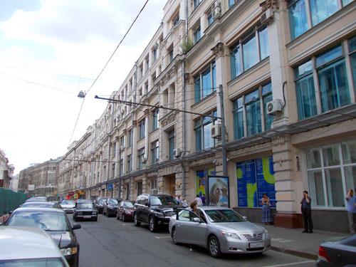 Строение по улице Мясницкая, дом 20 в Москве