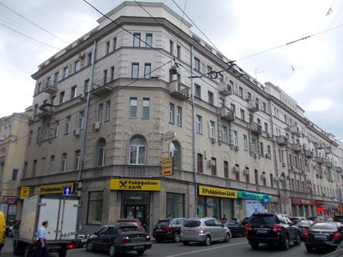 Улица Мясницкая, 22, строение 2 в Москве.