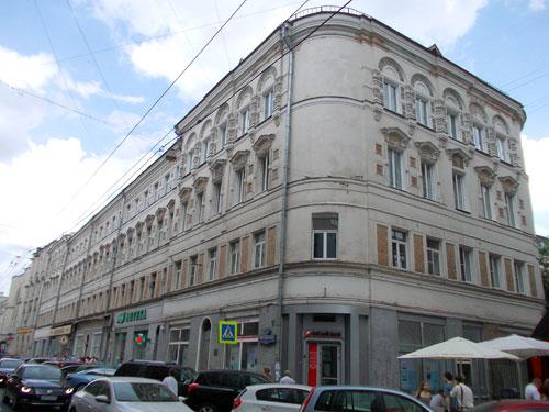 Улица Мясницкая, 24, строение 2 в Москве.