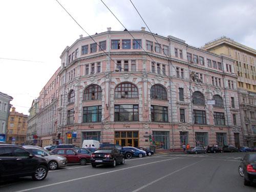 Мясницкая, 8, с.2 - Дом Матвея Сидоровича Кузнецова