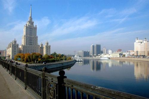 Гостиница Украина - Сталинская высотка на Кутузовском проспекте 2