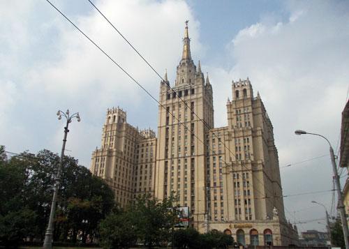 Кудринская площадь, дом 1 в Москве