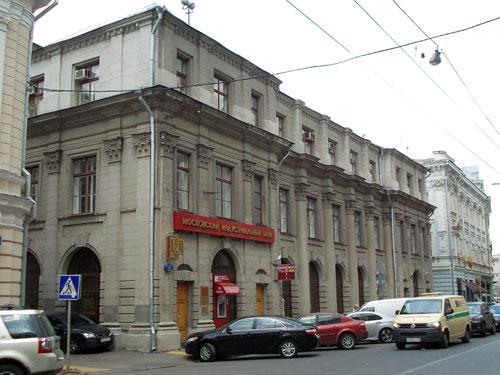 Мясницкая, 13, строение 2. Торговые помещения Давыдовой
