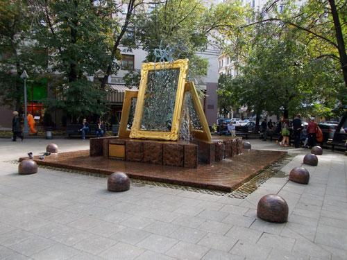 """Фонтан """"Вдохновение"""" в Лаврушинском переулке"""