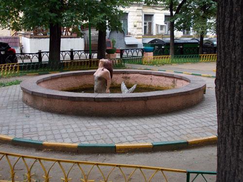 "Фонтан ""Русалка"" в Москве - фото"