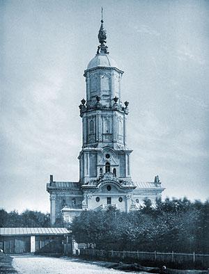Храм апостола Гавриила на старом фото