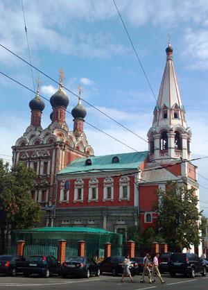 Церковь Николая Чудотворца на Болвановке