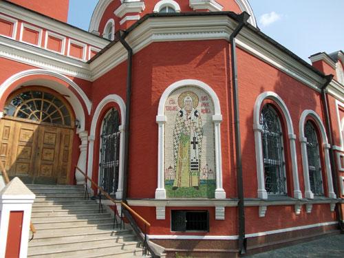 Благовещенский храм в Петровском парке