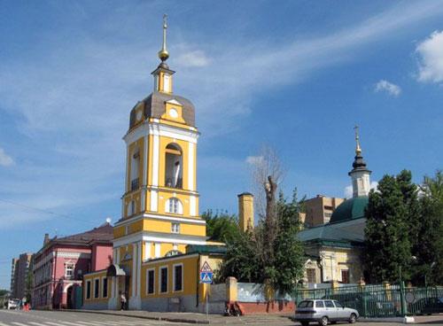 Церковь Сорока мучеников Севастийских в Спасской слободе