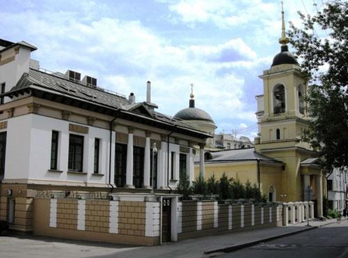 Храм святителей Афанасия и Кирилла на Сивцевом Вражке в Москве