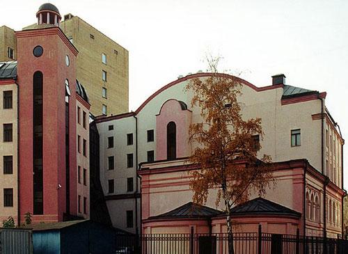 Храм Александра Константинопольского в Москве