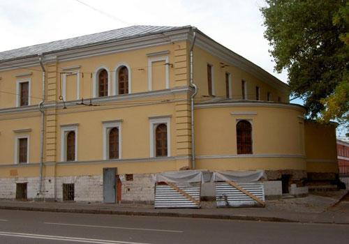 Храм Александра Невского при бывшей Покровской богадельне