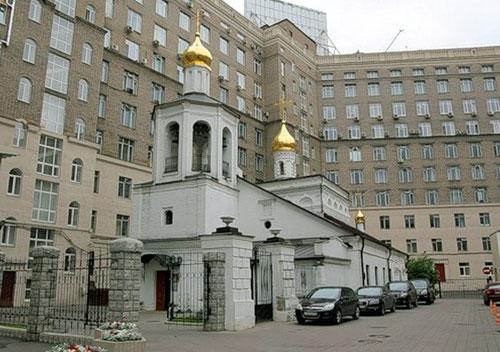 Храм Михаила Архангела (Покрова Богородицы) в Овчинниках