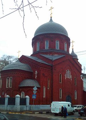 Фото Храма Покрова Пресвятой Богородицы Замоскворецкой общины старообрядцев