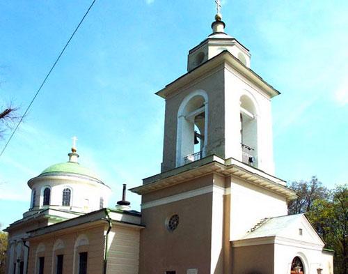Храм Сошествия Духа Святого на Даниловском кладбище