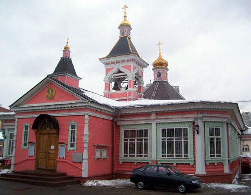 Храм Спаса Преображения Господня в Богородском на Краснобогатырской