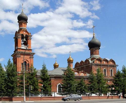Храм Преображения Господня в Тушине в Москве
