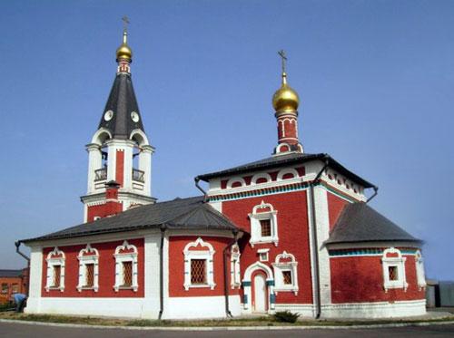 Храм святителя Николая Чудотворца в Сабурове