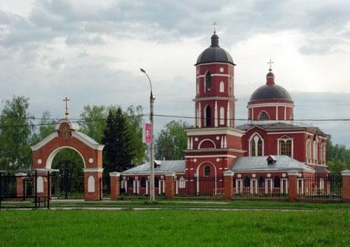 Храм святителя Николая Чудотворца (Воскресения Христова) в Ржавках