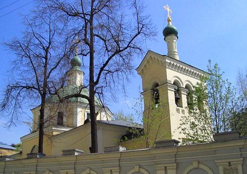 Храм святителя Николая Чудотворца в Старом Ваганькове