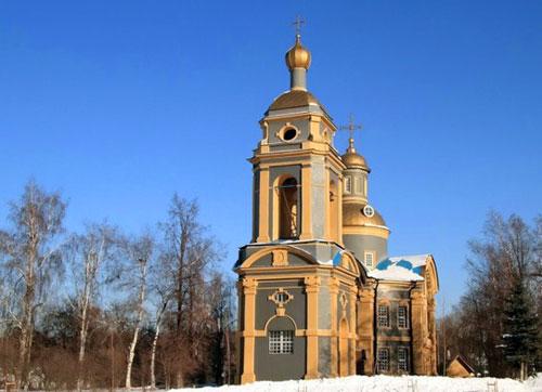 Храм святителя Николая Чудотворца в Троекурове