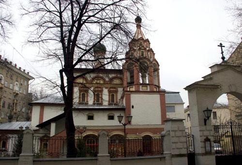 Храм Трех Святителей на Кулишках в Москве