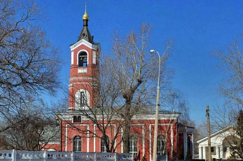 Храм Троицы Живоначальной в Борисове